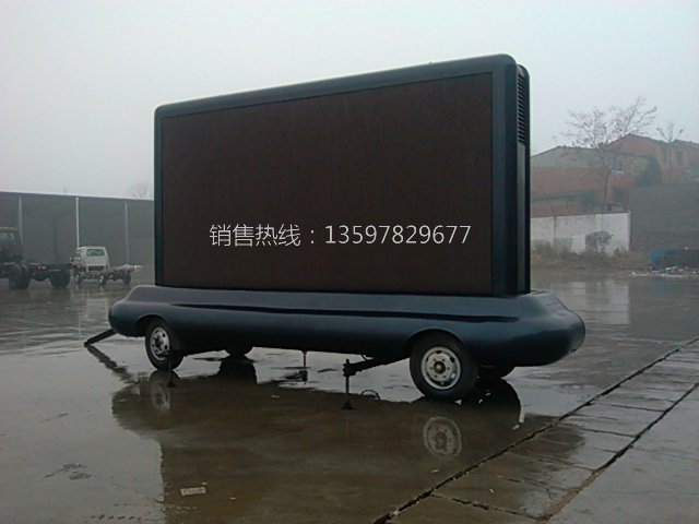 非动力LED广告车(单面彩屏)