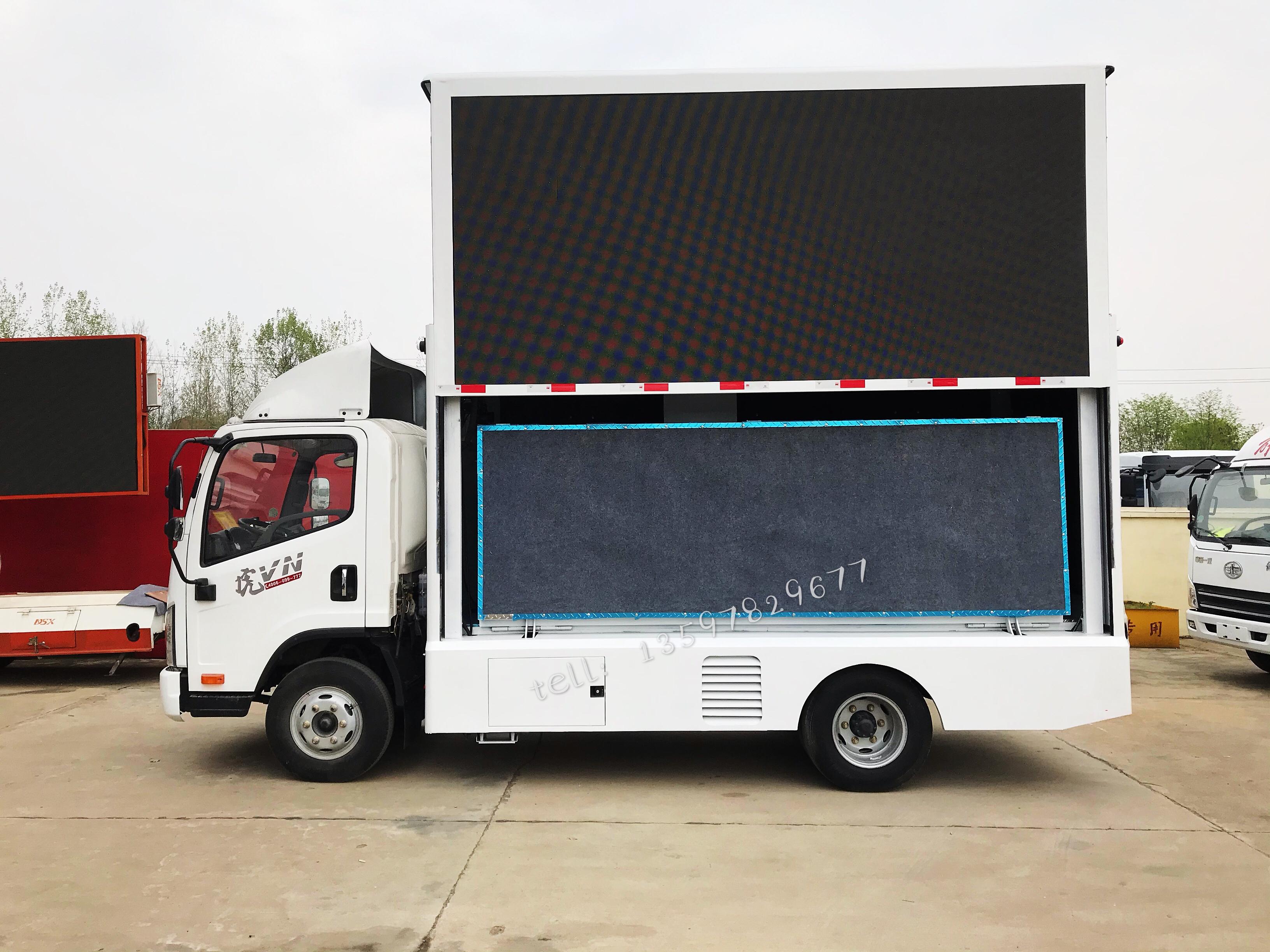 国六解放LED宣传车